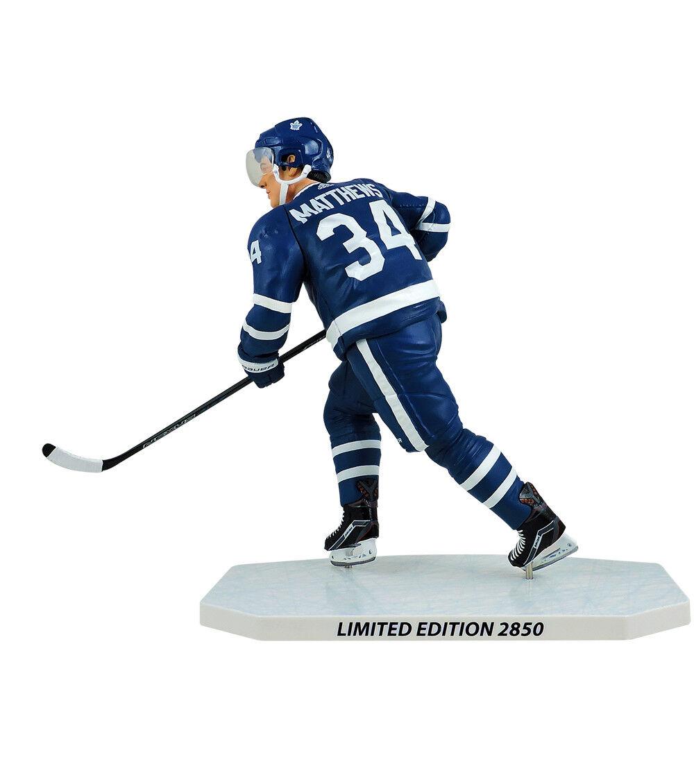2017- 2018 Auston Matthews Tgoldnto Maple Leafs    NHL 12' Action Figure  Ltd 2850 136868