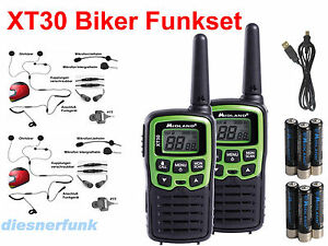 Motorrad Funkgerät Set : midland xt30 pmr446 motorrad funk set mit 2 helm headset 39 s jet integral helme ebay ~ Aude.kayakingforconservation.com Haus und Dekorationen