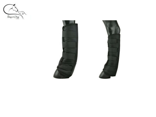 EKKIA SHORT SOFT FLEECE LINED TRAVEL BOOTS HORSE//PONY Black//Navy FREE DELIVERY