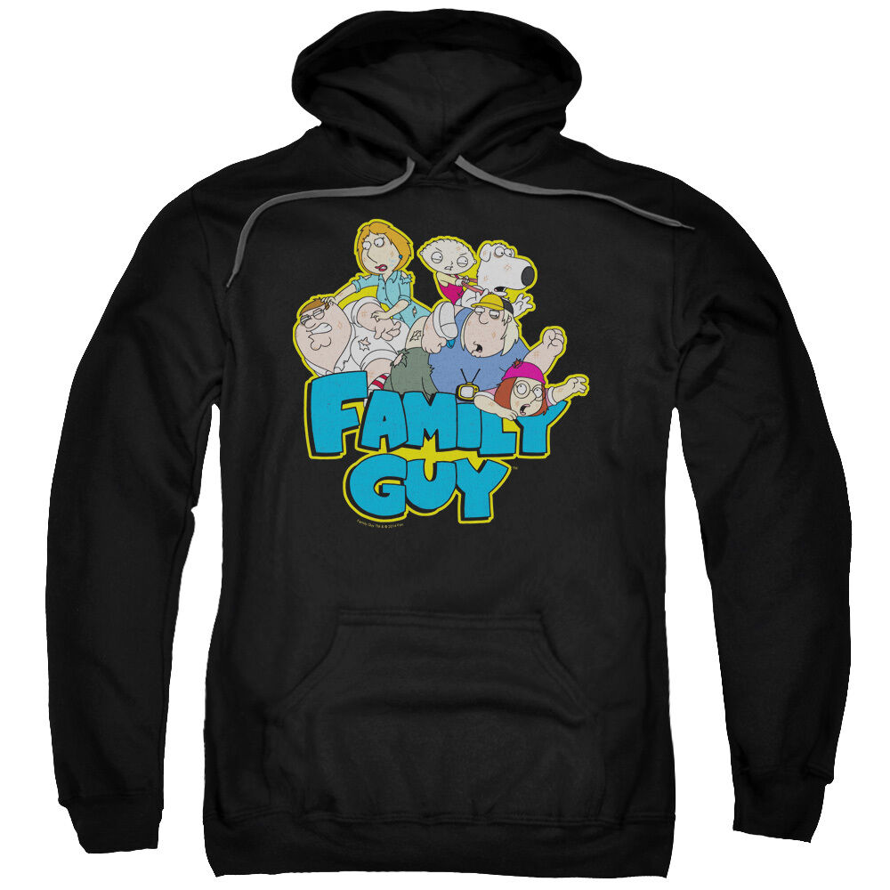 Family Guy TV Show FAMILY FIGHT Licensed Adult Sweatshirt Hoodie
