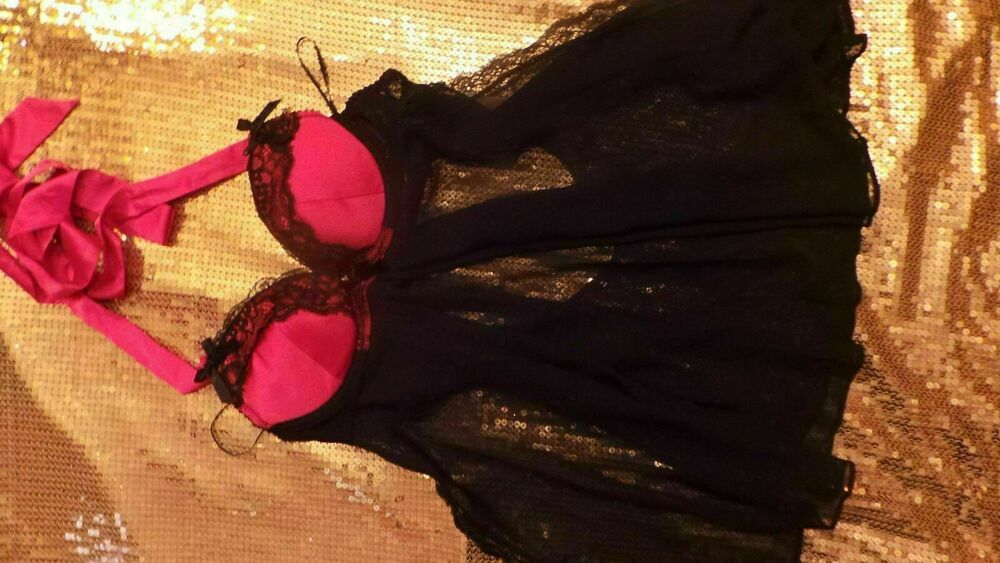 Ann Summers Dos Nu Babydoll Taille 12 Neuf Avec étiquettes Phoenix