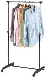 Fahrbarer Kleiderstander Fahrbare Hangegarderobe Garderobe Mobile
