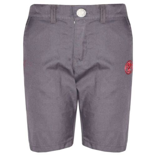 Kids Boys Shorts Grey Chino Shorts Summer Knee Length Half Pant New Age 2-13 Yrs