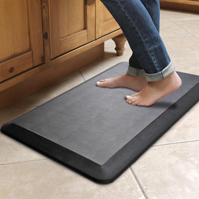 Anti Fatigue Standing Desk Mat Office Home Ergonomic Floor For Kitchens