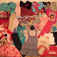 Toddler Girl Clothes Lot 18 24 M 2t 31p Summer Winter Christmas Dora Minnie