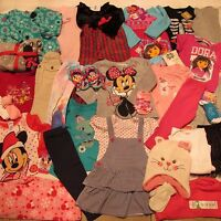 Toddler Girl Clothes Lot 18 24 M 2t 31p Summer Winter Christmas Dora Minnie