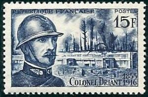 FRANCE-STAMP-TIMBRE-N-1052-034-COLONEL-DRIANT-034-NEUF-xx-TTB