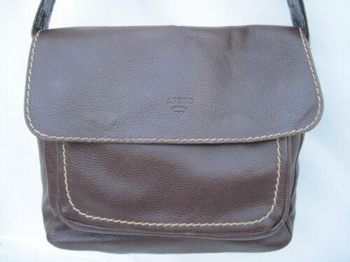 ee2a0d9b8b Arezzo Bag Beg Vintage À Authentique Sac Cuir Main nFqO1461