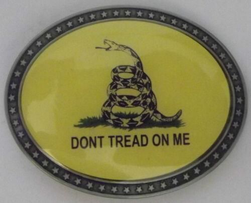 1776 SNAKE DON/'T TREAD ON ME BELT BUCKLE GADSDEN PATRIOT