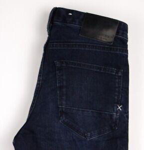 Scotch & Soda Hommes Skim Slim Jeans Extensible Taille W30 L34 ATZ878