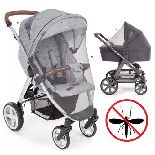 Moskitonetz für Kinderwagen und Buggy Universal Insektenschutz Mückennetz