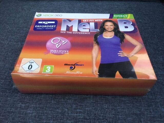 Get Fit With Mel B inkl. Gymnastikseil (Xbox 360, 2010)