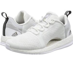 518a2c432 NEW WHITE ADIDAS PUREBOOST X TR 2 TRAINERS LADIES UK SZ 7 RUNNING ...