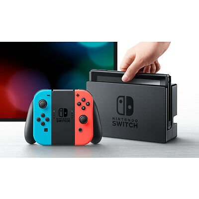 NINTENDO SWITCH CONSOLE - NEON BLUE/NEON RED - NEW - IN STOCK!!