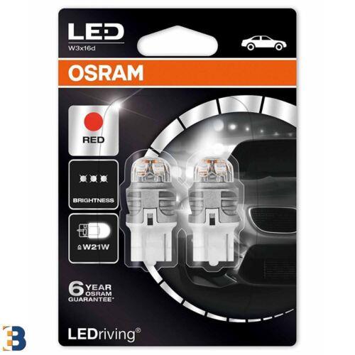 Osram W21W 582 12 V LEDriving rouge 7905R-02B Extérieur DEL Premium Rénovation Set