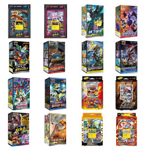Pokemon-Cards-Game-GX-Ultra-Shiny-Charizard-or-Booster-Box-Collection-Korean