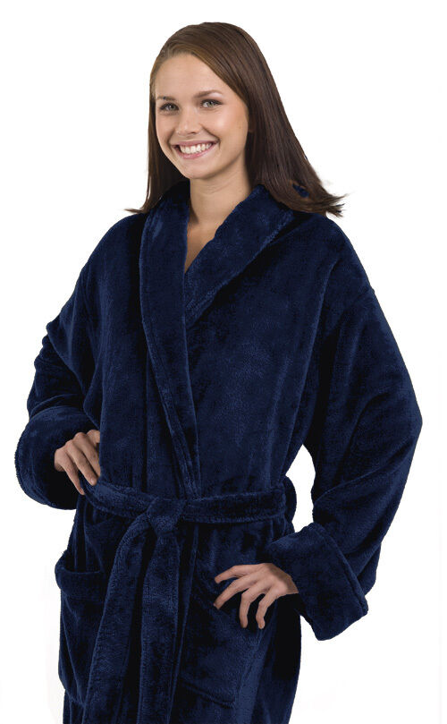 Tahoe Micro Fleece Shawl Collar Unisex Robe