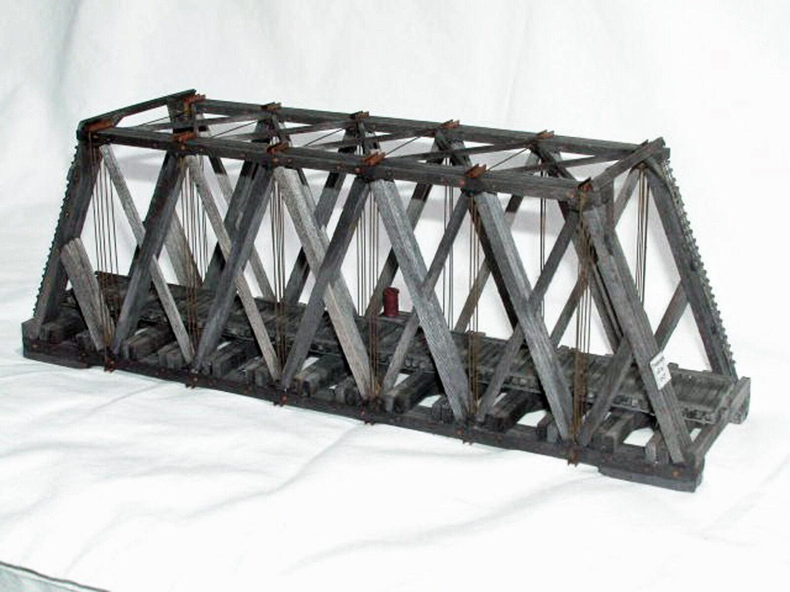 86 'howe machen schnipp, durch die brcke ho modelleisenbahn struktur unlackiert kit hl103h