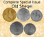 Israel-Complete-Set-Special-Issue-Hanukkah-amp-Faces-Lot-of-5-Old-Sheqel-Coins thumbnail 10