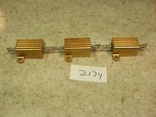 Lot Of 3 Cal R Rer65f3011r 3k 10w 1 Aluminum Power Resistor New