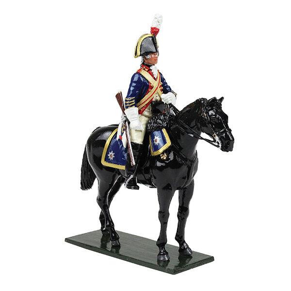 W Britain 47047-British Horse Guards (blus) Trooper, 1795-Brillante