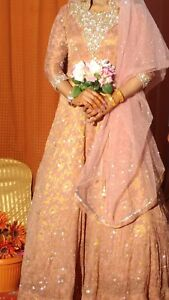 Image Is Loading Asian Wedding Dress Prom Pink Rose Gold Full
