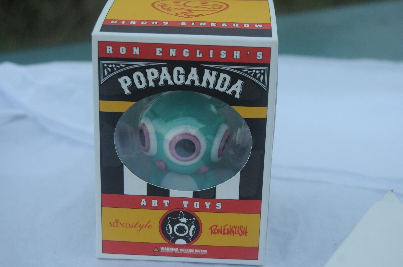 autorización oficial Ron Inglés Firmado Ronnnie rabbbit Circus Sideshow Mindstyle Popaganda Popaganda Popaganda Conejo  muchas sorpresas