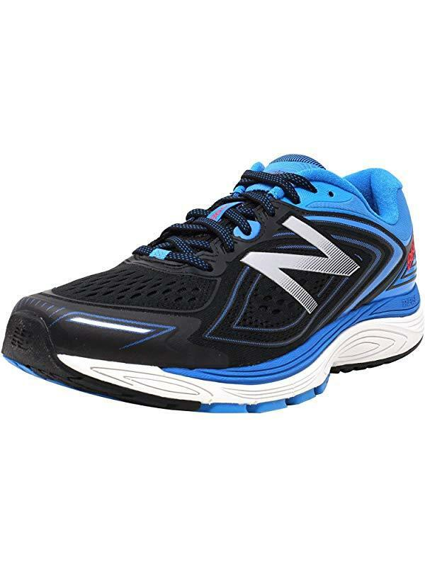 New Balance Men's 860v8 Running shoes, bluee Black, 11.5 2E US