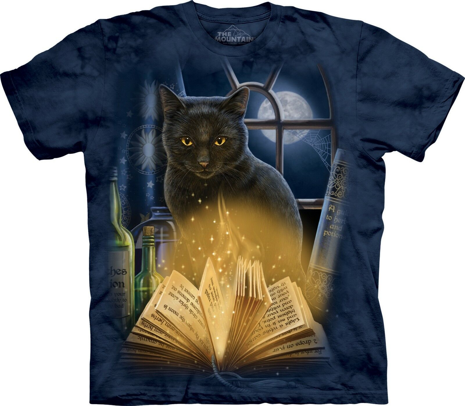 The Mountain Unisex Adult Bewitched Pet T Shirt