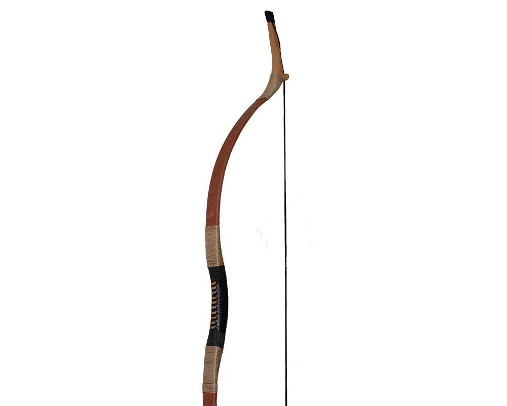 65lb 55  caza de Tiro con Arco Recurvo Arco Longbow mano izquierda derecha Horsebow mongol