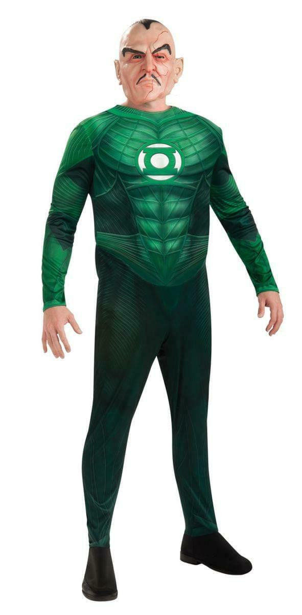 Green Lantern Deluxe Musclechest Sinestro Costume Adult X-Large 44-52