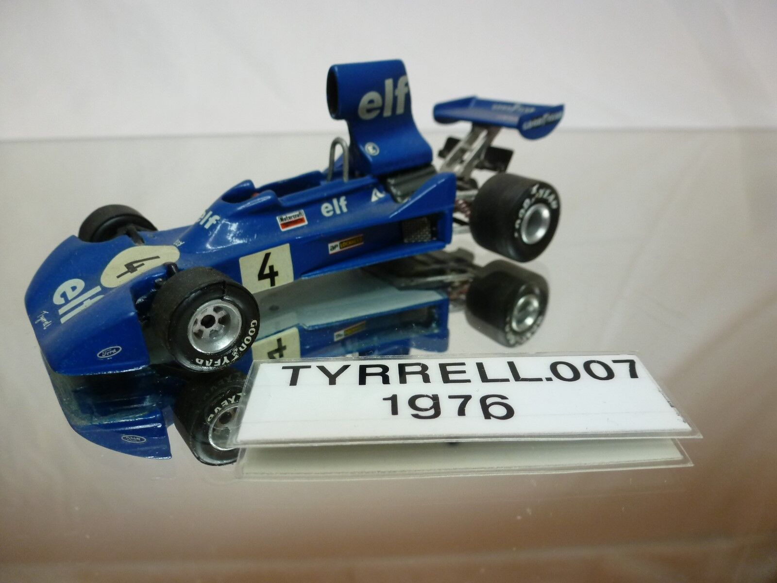 TYRRELL 007  1976 F1 DEPAILLER  -  KIT  (built)  - RARE  1 43 - NICE CONDITION  en ligne pas cher