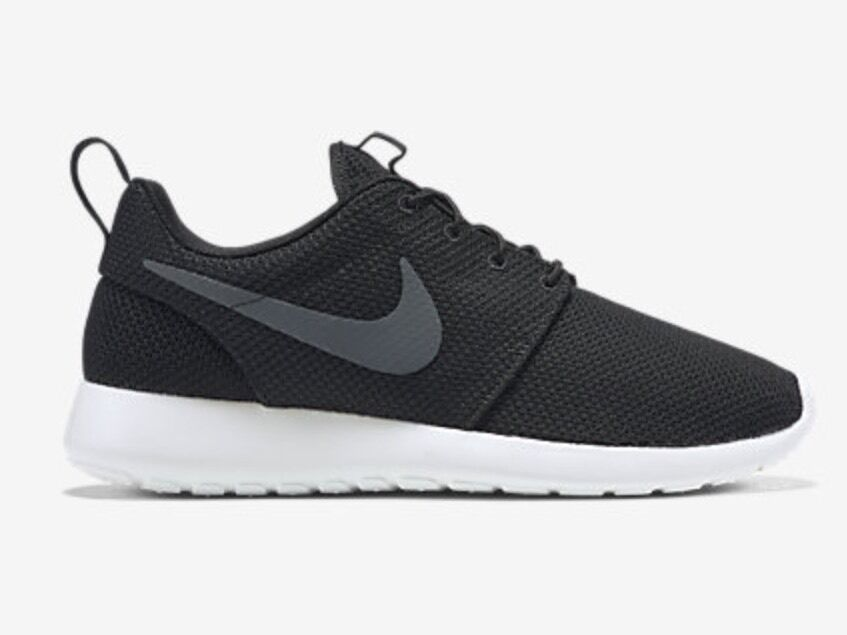NIKE ROSHE ONE MENS SHOE 010 BLACK/WHITE SIZE 11 511881 010 SHOE 2c5d33