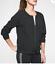 miniature 1 - Athleta Avenue Women's Black Lightweight Jacket Full Zip Pocket Size L Large