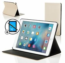 White Clam Shell Smart Case Cover for Apple iPad Pro 12.9 Screen Prot & Stylus