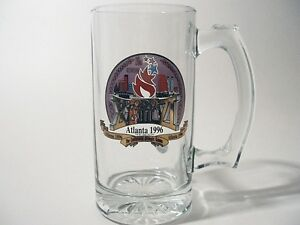 1996-Atlanta-Olympics-Glass-Stein-The-Centennial-Olympic-Games-12-Ounces-Mug