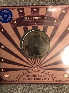 ELVIS-PRESLEY-US-EP-Collection-4-10-034-White-Vinyl-NEW-SEEALED