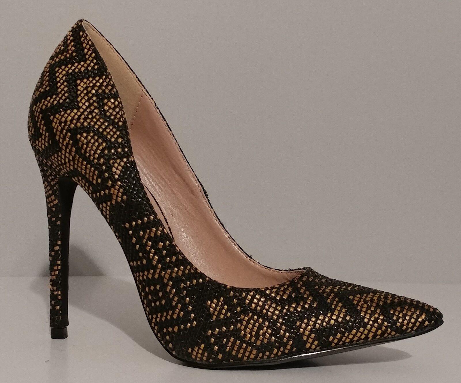 zapatos Republic LA       nuevo    Negro 5  clásico tejido Bombas Tacones Talla 7M nos 37M EUR  gran selección y entrega rápida