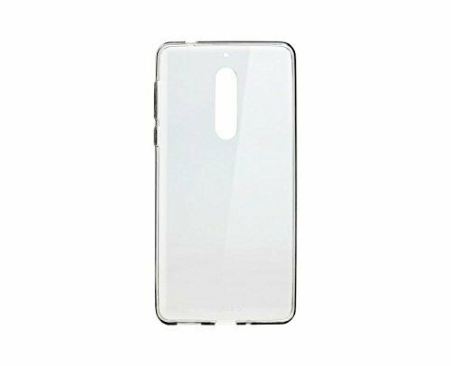 new style a92ac 6c6c7 Official Nokia 5 Slim Crystal Silicone Cover / Case - Cc-102