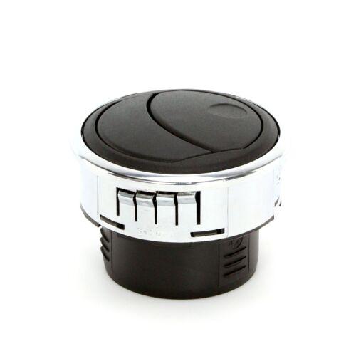Air Vent Kit pour voiture rallye 84mm chrome lunette rocking vane dashboard Chauffage