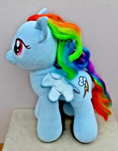 "2013 Large 17"" Build a Bear My Little Pony Large RAINBOW DASH Soft Plush Toy"