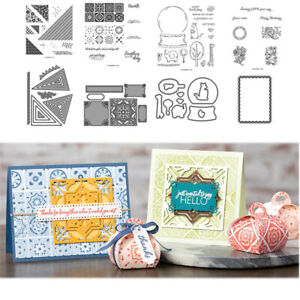CH PLAYFUL ALPHABET Metal Cutting Dies and Stamps For DIY Scrapbooking Decorativ