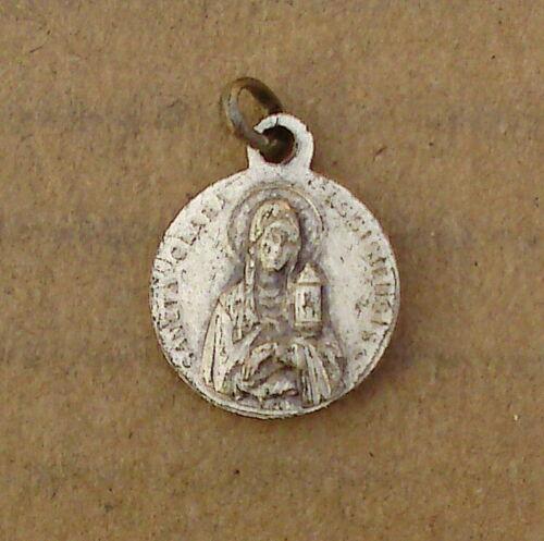 Alter Pilgeranhänger - Heilige Clara - Heiliger Franziskus - (AX208)