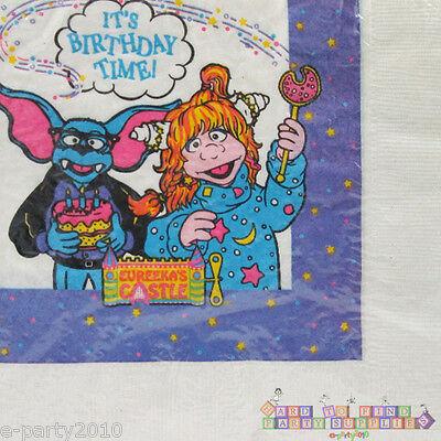 ~ Fun Vintage Birthday Party Supplies Beverage GET ALONG GANG SMALL NAPKINS 16