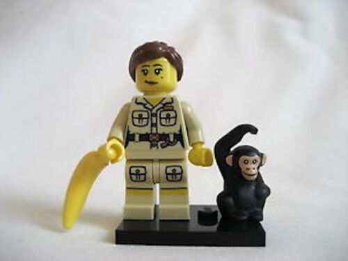 100/% Lego Zookeeper Series 5 Collectible Minifigure Set 8805 NEW