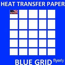 Heat Transfer Paper Iron On Dark T Shirt Inkjet Paper 30 Sh 85x11
