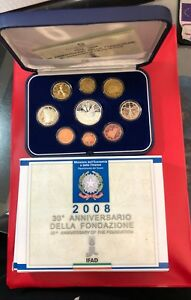 Italy-Series-Mint-Divisional-Proof-Bottom-Mirror-2008-Ifad