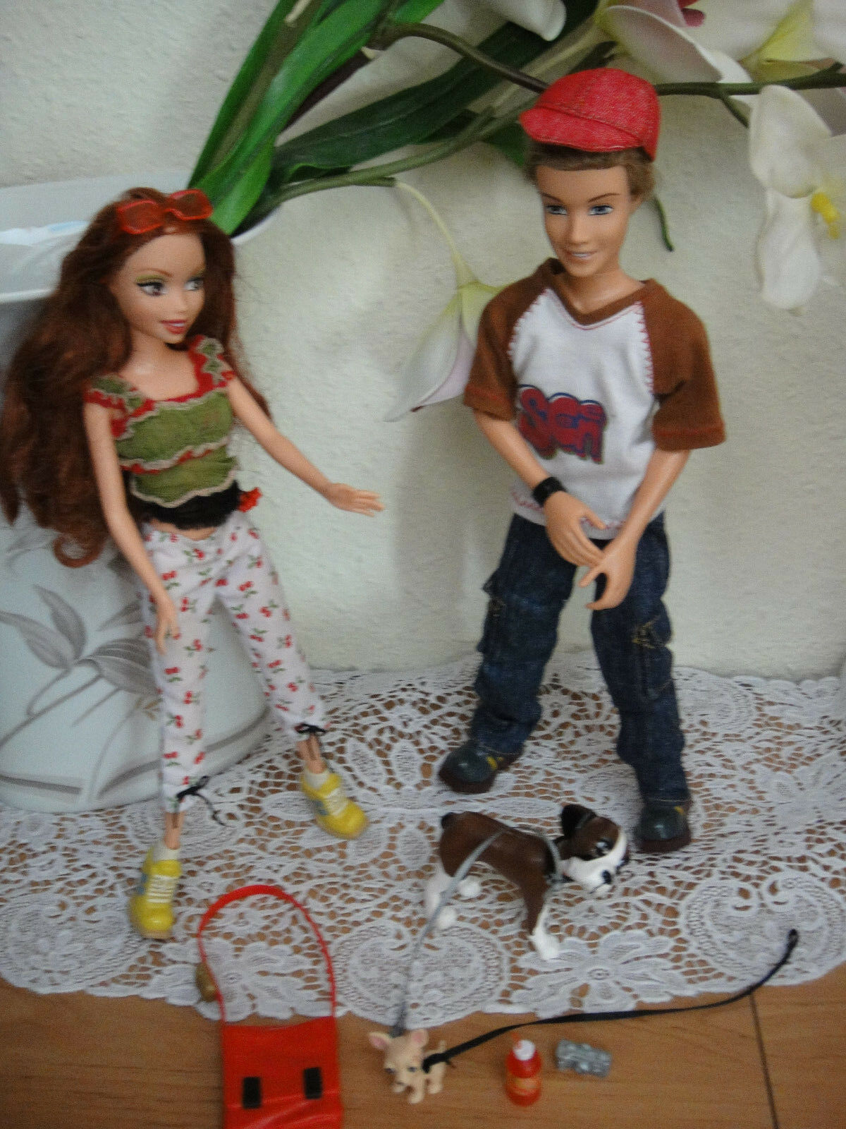 MATTEL MY SCENE out & about Chelsea and Hudson 2er SET REGALO GIFT