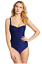 NEW-La-Blanca-Women-039-s-Shirr-And-Now-OTS-Sweetheart-Cup-One-Piece-Swimsuit thumbnail 6