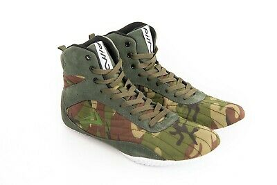 PIMD Camo X-Core V2 Gym Shoes Training High Top Boots Bodybuilding MMA Boxing